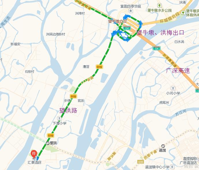 南安市洪梅镇地图